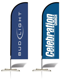Feather Banner Printing Sydney